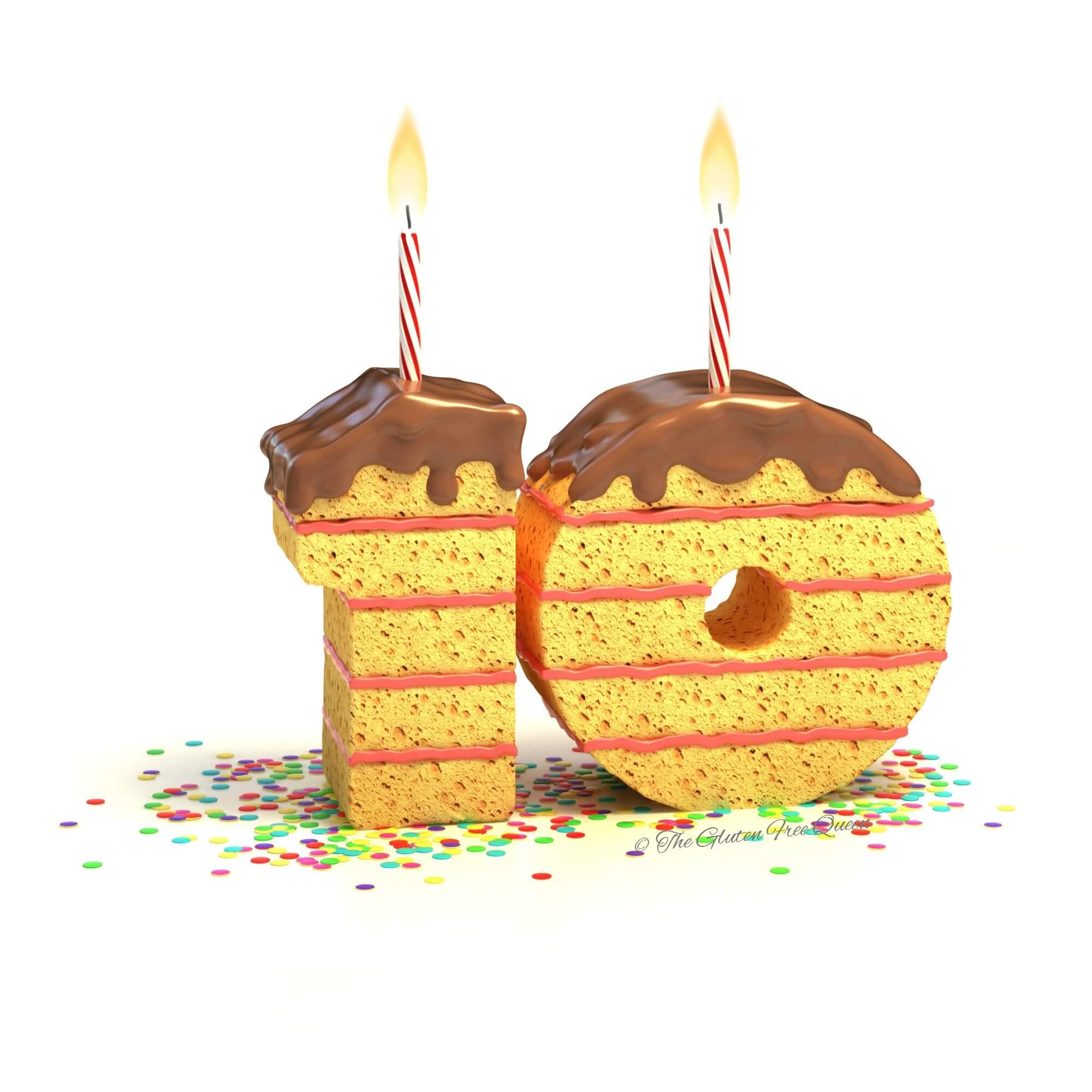 10 years gluten free