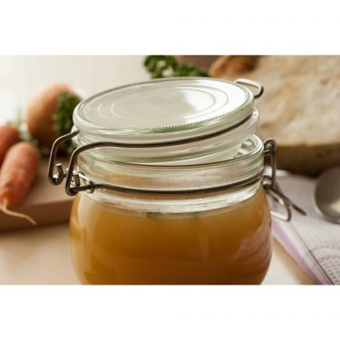 Chicken and Vegetable Stock Square