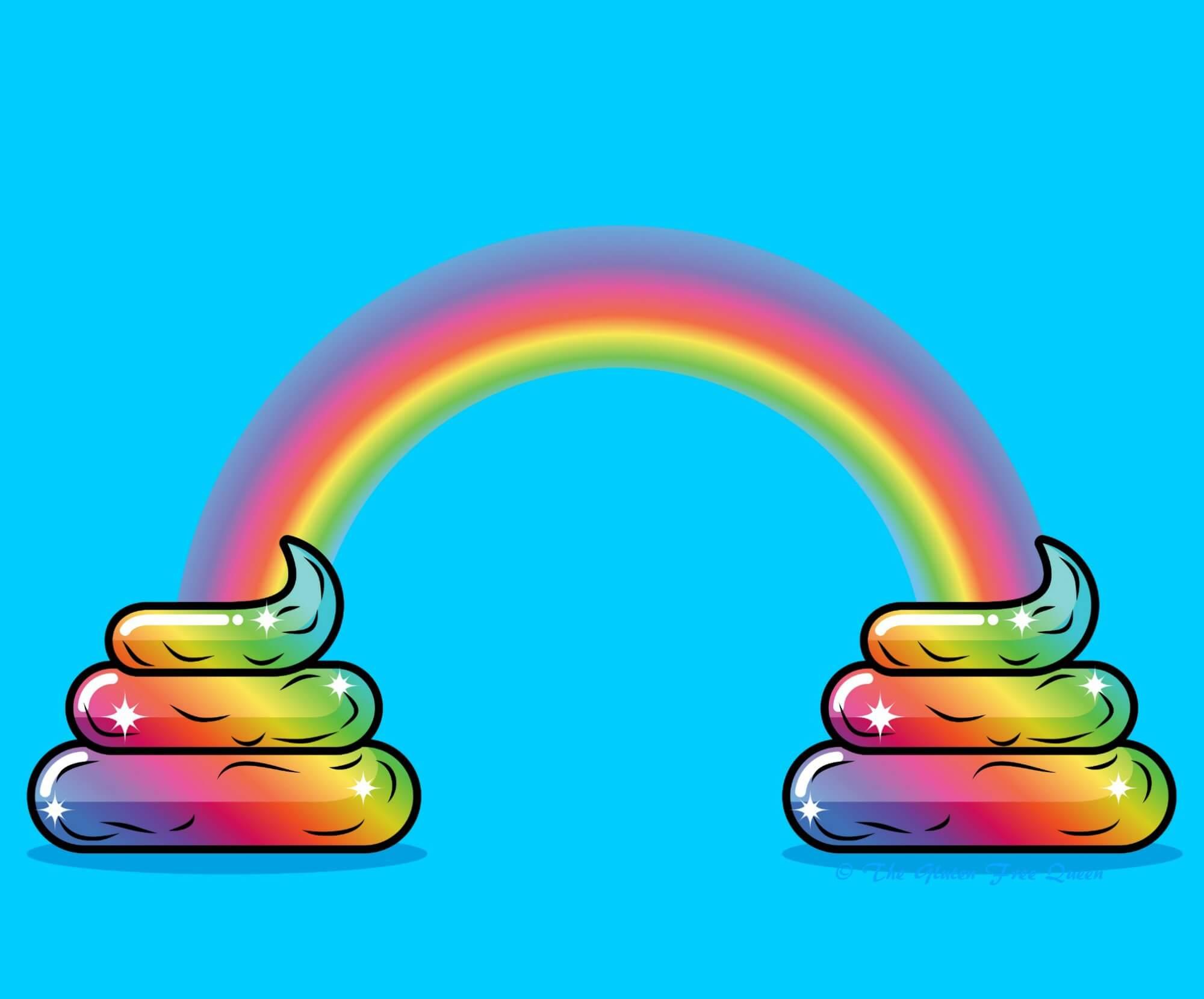 Poop Rainbow