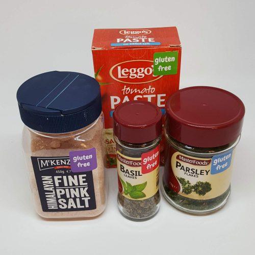 Square gluten free sticker - all colours