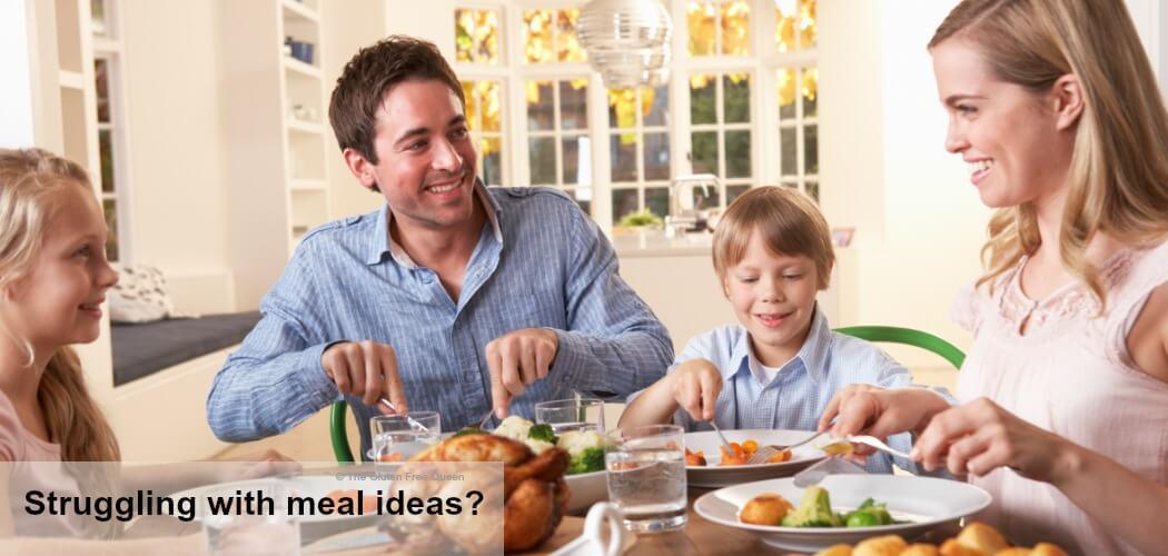 TGFQ Website slider - Struggling with meal ideas