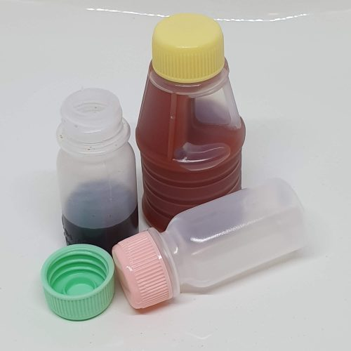 Lunch box sauce containers 3pk 15ml, 30 ml, great for travel