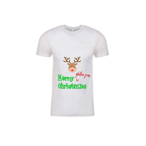 Gluten Free Christmas Men's Tee Reindeer