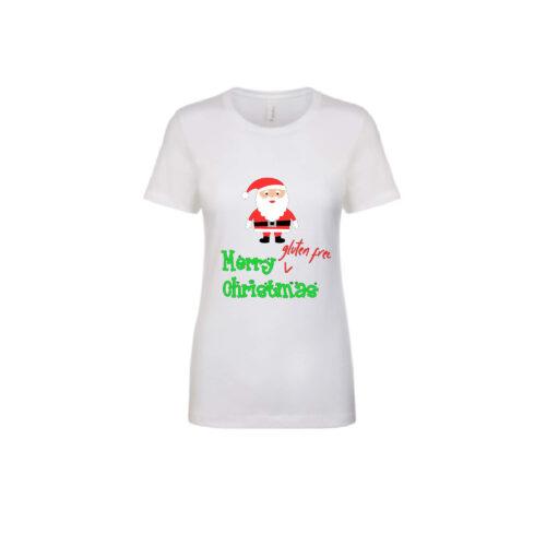 Gluten Free Christmas Women's Tee Santa